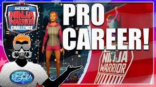 Let's Play American Ninja Warrior Challenge |Season 1|- Pro Career