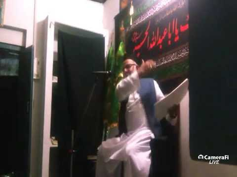 Azadari Channel's Live Majalis By Iqbal Raza Sb | Muharram 6 | 1468 Hijri | At India