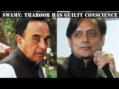 Subramanian Swamy Counters Shashi Tharoor video