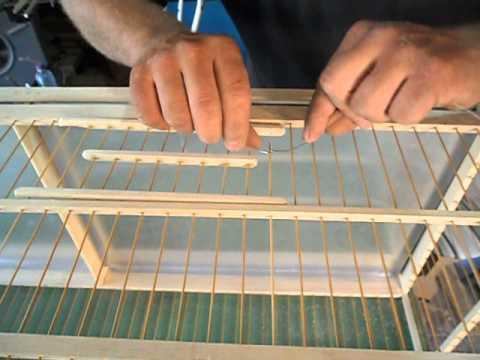 como fazer uma molinha para gaiola
