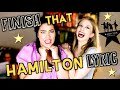 Lagu FINISH THAT HAMILTON LYRIC