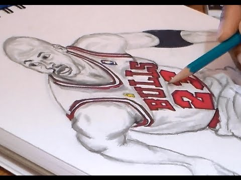 Jordans Drawing Drawing Michael Jordan
