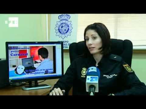 Detenido joven que desnudaba a niñas en internet bajo amenazas.