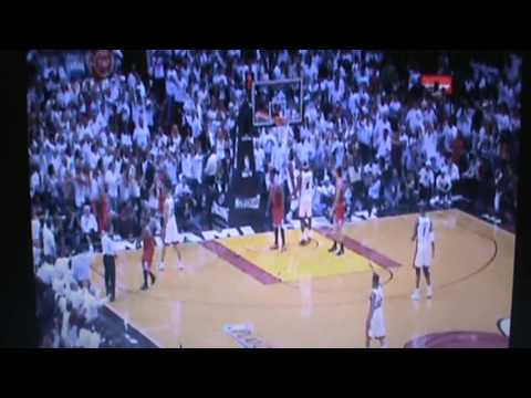 Chicago Bulls Vs Miami Heat - Full 4th Quarter Part 2 Game 5 - NBA Playoffs 2013 5/15/13