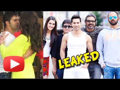 Leaked! Dilwale Song Pictures and Videos | Varun Dhawan, Kriti Sanon