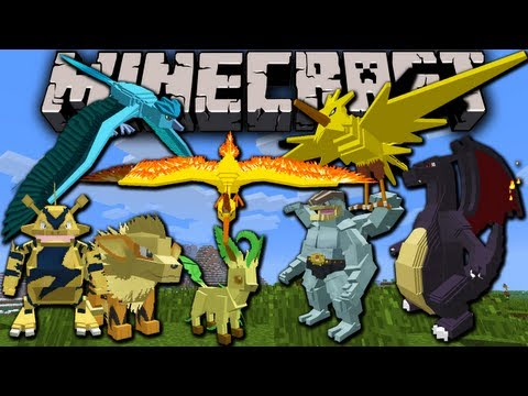 Pixelmon HUGE Update! Minecraft Pokemon Mod Spotlight 2.2 for 1.5.2