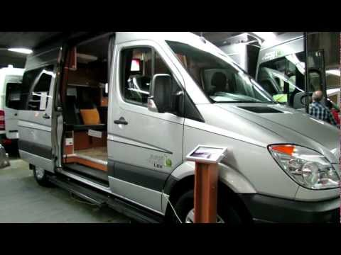 2012 Mercedes-Benz Sprinter CDI Safari Condo LDX at 2012 Salon du VR de Montreal