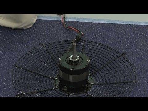 Condenser Fan Motor - York AC Condenser Unit