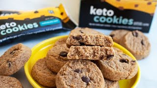 Perfect Keto Chocolate Chip Cookie Review #perfectketo #keto #ketodiet #ketogenic #diet #cookies