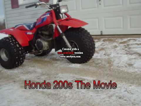 Honda 200s The Movie