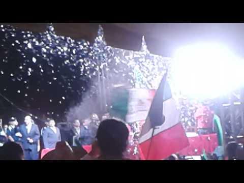 Grito en Taxco de Alarcón.
