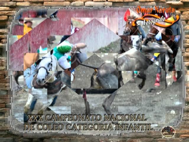 XXX CAMPEONATO NACIONAL DE COLEO CATEGORIA INFANTIL 2012