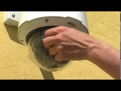Como montar una cámara se seguridad domo