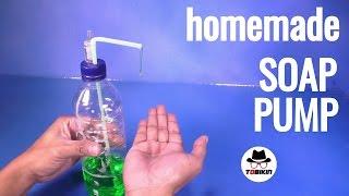 Membuat Botol HandPump Tempat Sabun Cair (Botol Hand Soap)