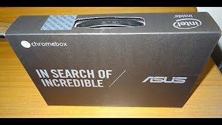My New Asus Chromebox Unboxing