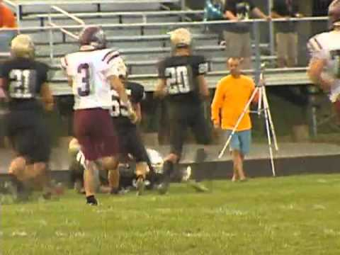 CENTRAL NOBLE AT CHURUBUSCO HIGH SCHOOL FOOTBALL