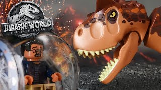 LEGO TOAST!! - Carnotaurs Escape! Jurassic World 2 Lego Set - Review/Build