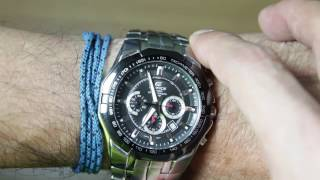 Casio Edifice EF-540D-1AV Unboxing