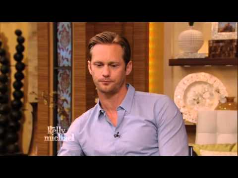 Alexander Skarsgard on Kelly and Michael Show - April 10, 2013