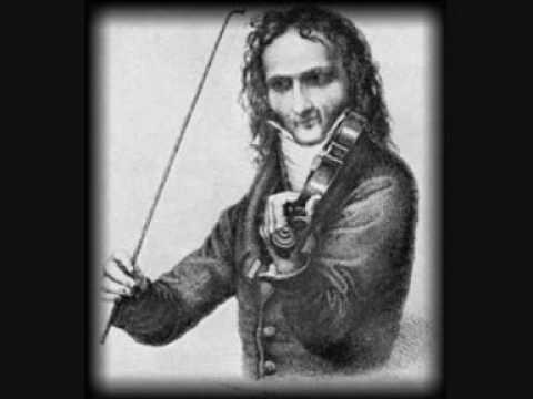 Niccolo Paganini - Variations on One String