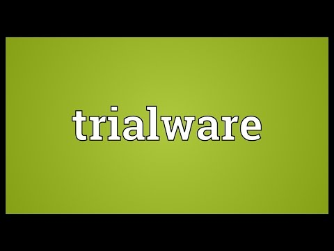 Header of Trialware