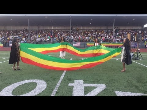 It was like this when the Ethiopian people were celebrated in Seattle. Ethiopia must live forever.