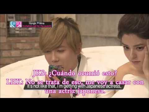 [JKSARG.] Lee Hong Ki llama a Jang Keun Suk en We Got Married