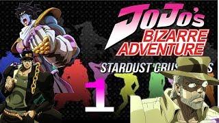 REACTION: JoJo's Bizarre Adventure: Stardust Crusaders ep. 1