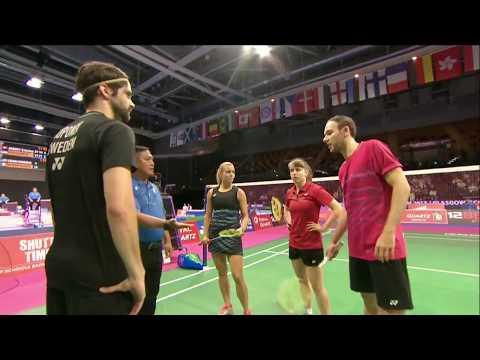 Total Bwf World Championships 2017 Badminton Day 1 M3 Xd