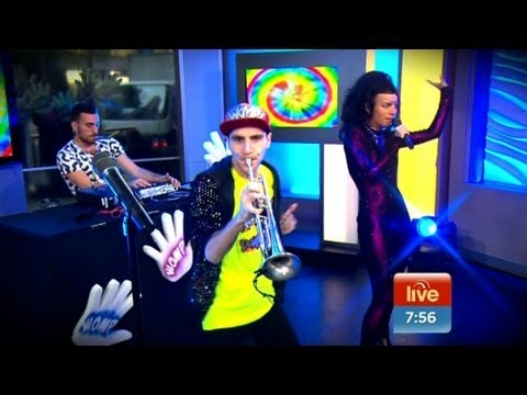 Sam And The Womp perform Bom Bom