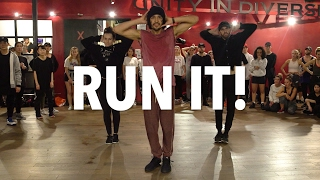 CHRIS BROWN - Run It! - Choreography by Alexander Chung  Filmed by @RyanParma