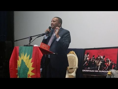 Ethiopia: Powerful Speech by Jawar Mohammed at OMN Fundraiser in Atlanta | January 9, 2016