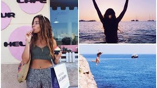 FORMENTERA JULY 2015 - cliff jumping, diving, sunset swims