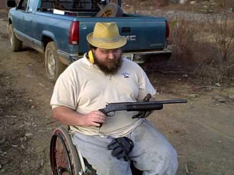 Pistol grip sawed off shotgun. 12 gauge. Rossi riot gun.