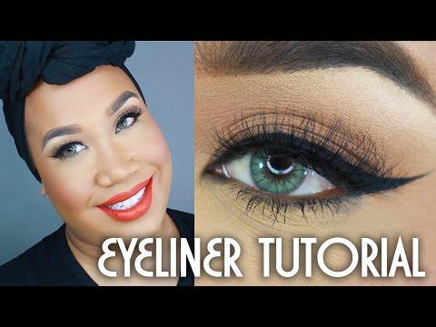 How To Winged Eyeliner Tutorial   PatrickStarrr