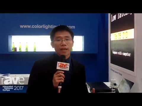 ISE 2017: Colorlight Explains Auto-Calibration System
