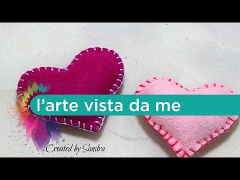 Punto festone tutorial - Lartevistadame