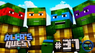 "Minecraft - Ali-A's Quest #37 - ""TEENAGE MUTANT NINJA TURTLES!"""