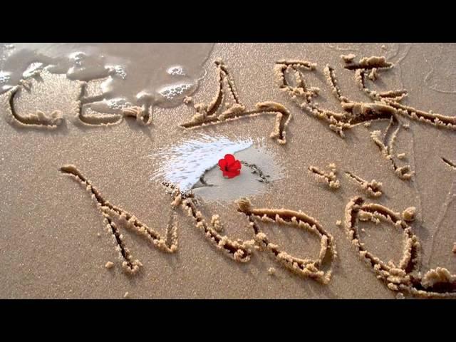 я готов целовать песок по которому ты ходила:
