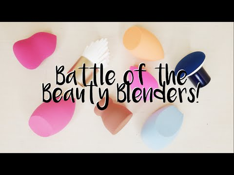 Battle of the Beauty Blenders   Trying 8 Dupe Sponges + Demos and Review of Each