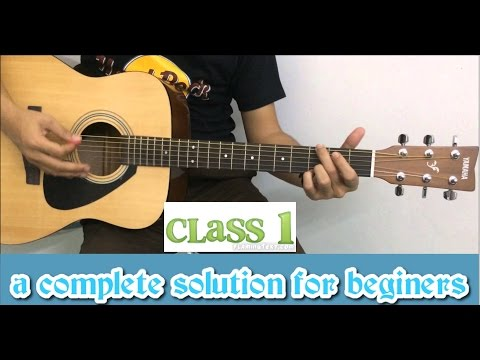 Lesson Guitar - Advanced Lesson Chapter 1