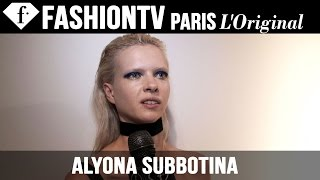 Alyona Subbotina: My Passion | Model Talk | FashionTV
