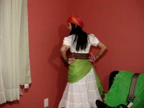 wXw Episode 4: DIY Gypsy Costume - YouTube