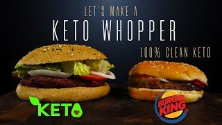 Keto Recipe: Making The Burger King Whopper At Home (100% Keto) | Salty Tales
