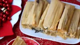 Download Lagu How to make easy tamales with spinach and cheese filling -Una Mexicana en USA- Gratis STAFABAND