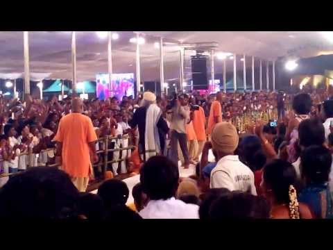 Sadhguru Dancing at Mahashivarathri Function at Isha Yoga Centre...