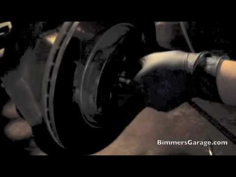 BMW Wheel Hub Bearing Replacement : DIY [ How To - Part 1 of 2 ] /// 330i (E46)