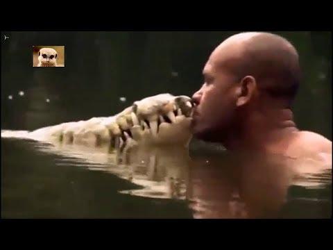 Дружба рыбака Чито и крокодила Почо.