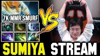 Can SUMIYA deal with 7K MMR Streamer (Full Slotted)? Sumiya Invoker Stream Moment #793