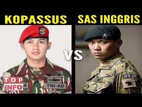 KEBERANIAN TNI MELAWAN SAS INGGRIS